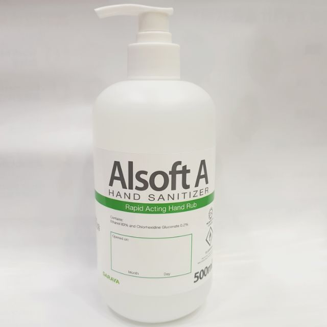 Alsoft A Hand Sanitizer 500ML